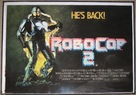RoboCop 2 - British Movie Poster (xs thumbnail)