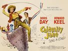 Calamity Jane - British Movie Poster (xs thumbnail)
