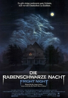 Fright Night - German Movie Poster (xs thumbnail)
