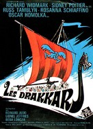 The Long Ships - French Movie Poster (xs thumbnail)