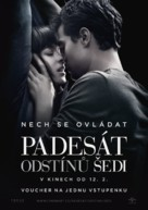 Fifty Shades of Grey - Slovak Movie Poster (xs thumbnail)