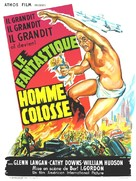 The Amazing Colossal Man - French Movie Poster (xs thumbnail)