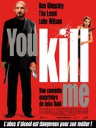 You Kill Me - French Movie Poster (xs thumbnail)