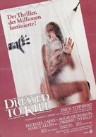 Dressed to Kill - German Movie Poster (xs thumbnail)