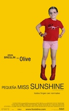 Little Miss Sunshine - Spanish Movie Poster (xs thumbnail)