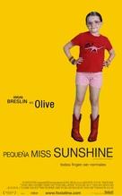 Little Miss Sunshine - Spanish Movie Poster (xs thumbnail)