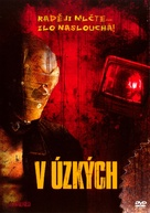 Cornered! - Czech DVD cover (xs thumbnail)