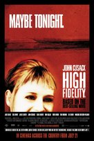 High Fidelity - British Movie Poster (xs thumbnail)