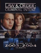 """Law & Order: Criminal Intent"" - DVD cover (xs thumbnail)"