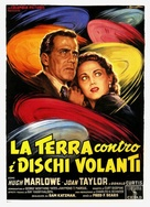 Earth vs. the Flying Saucers - Italian Movie Poster (xs thumbnail)