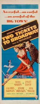 Two Tickets to Broadway - Movie Poster (xs thumbnail)