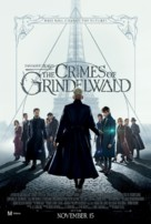 Fantastic Beasts: The Crimes of Grindelwald - New Zealand Movie Poster (xs thumbnail)