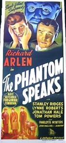 The Phantom Speaks - Australian Movie Poster (xs thumbnail)