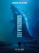 Godzilla: King of the Monsters - French Movie Poster (xs thumbnail)