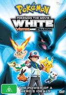 Pokemon the Movie: White - Victini and Zekrom - Australian DVD cover (xs thumbnail)