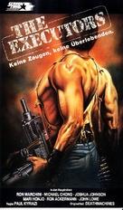 Death Machines - German VHS movie cover (xs thumbnail)