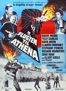 Escape to Athena - Danish Movie Poster (xs thumbnail)