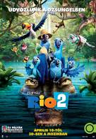 Rio 2 - Hungarian Movie Poster (xs thumbnail)