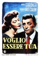 My Forbidden Past - Italian Movie Poster (xs thumbnail)