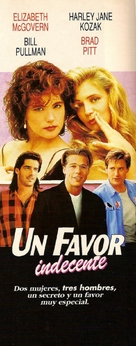The Favor - Argentinian Movie Poster (xs thumbnail)