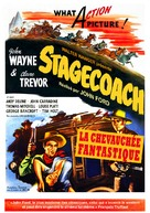 Stagecoach - French Movie Poster (xs thumbnail)