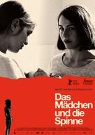 Das Mädchen und die Spinne - German Movie Poster (xs thumbnail)