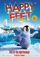 Happy Feet - Norwegian Movie Poster (xs thumbnail)