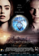 The Mortal Instruments: City of Bones - Czech Movie Poster (xs thumbnail)
