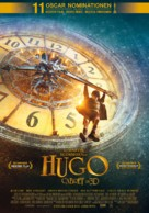 Hugo - Swiss Movie Poster (xs thumbnail)