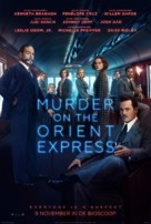 Murder on the Orient Express - Dutch Movie Poster (xs thumbnail)