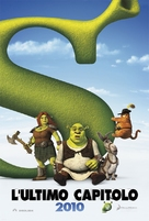 Shrek Forever After - Italian Movie Poster (xs thumbnail)