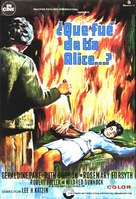 What Ever Happened to Aunt Alice? - Spanish Movie Poster (xs thumbnail)
