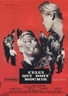 Celui qui doit mourir - French Movie Poster (xs thumbnail)