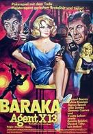 Baraka sur X 13 - German Movie Poster (xs thumbnail)
