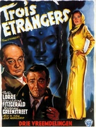 Three Strangers - Belgian Movie Poster (xs thumbnail)