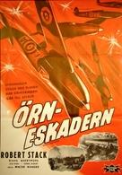 Eagle Squadron - Swedish Movie Poster (xs thumbnail)