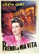 Take My Life - Italian Movie Poster (xs thumbnail)