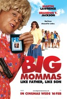 Big Mommas: Like Father, Like Son - British Movie Poster (xs thumbnail)