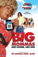 Big Mommas: Like Father, Like Son - British Movie Poster (xs thumbnail)