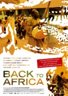 Back to Africa - German Movie Poster (xs thumbnail)