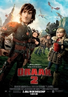 How to Train Your Dragon 2 - Dutch Movie Poster (xs thumbnail)