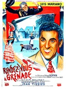 Rendez-vous à Grenade - French Movie Poster (xs thumbnail)