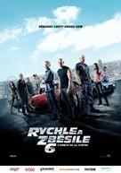 Furious 6 - Czech Movie Poster (xs thumbnail)