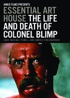 The Life and Death of Colonel Blimp - DVD movie cover (xs thumbnail)