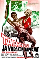 Tarzan and the Great River - Finnish Movie Poster (xs thumbnail)