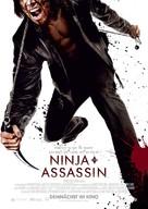Ninja Assassin - German Movie Poster (xs thumbnail)