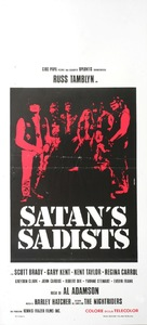 Satan's Sadists - Italian Movie Poster (xs thumbnail)