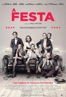 The Party - Brazilian Movie Poster (xs thumbnail)