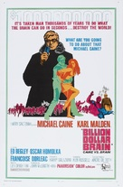 Billion Dollar Brain - Movie Poster (xs thumbnail)