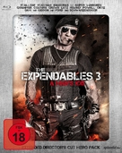 The Expendables 3 - German Blu-Ray cover (xs thumbnail)